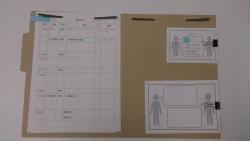 実習生のスケジュール表