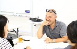 オフィスミックス インタビュー風景