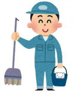 清掃の仕事 イラスト