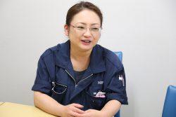 製造グループ リーダー 沖長悦子さん