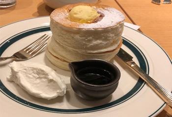 できたてパンケーキ
